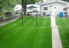 Southwest Greens Fake Grass Backyard Lawn 1